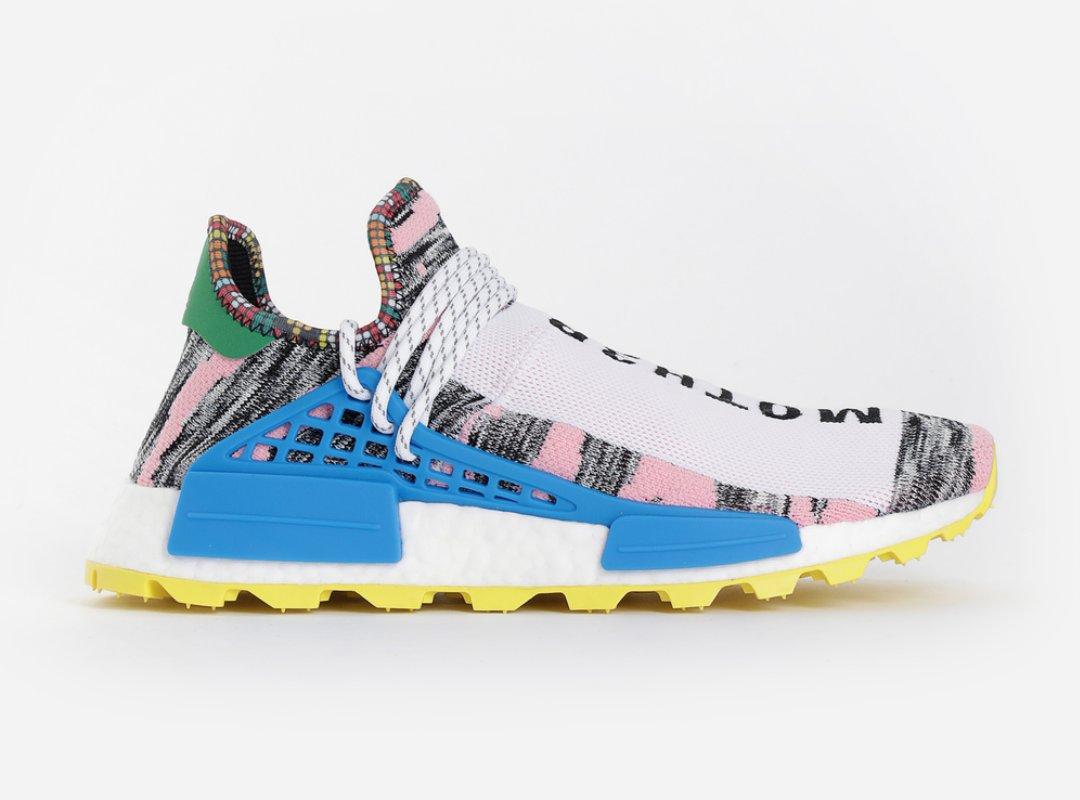 1ad7c4b11 Pharrell Williams x adidas NMD Solar HU  Afro Pack  Last Sizes At Antonioli  Core Black    http   bit.ly 2CTylNa Hi-Res Aqua    http   bit.ly 2OAVqu4  Light ...
