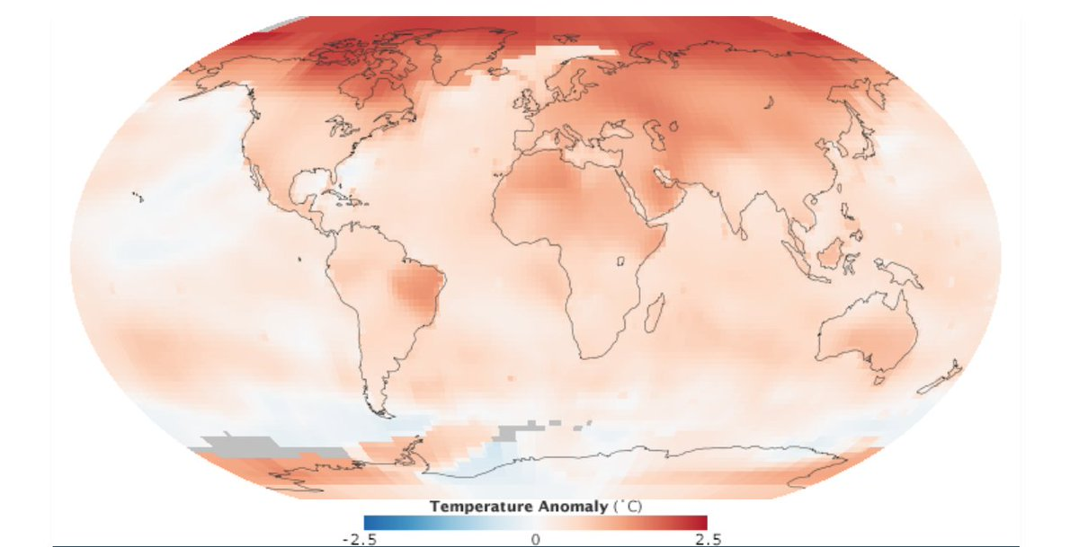 """'The key thing to remember about the report is that it's clear that the best time to have reduced emissions was 25 years ago, but the second best time to reduce emissions is right now."""" — Gavin Schmidt on the recent @IPCC_CH report. https://t.co/AyZtW605lI"""