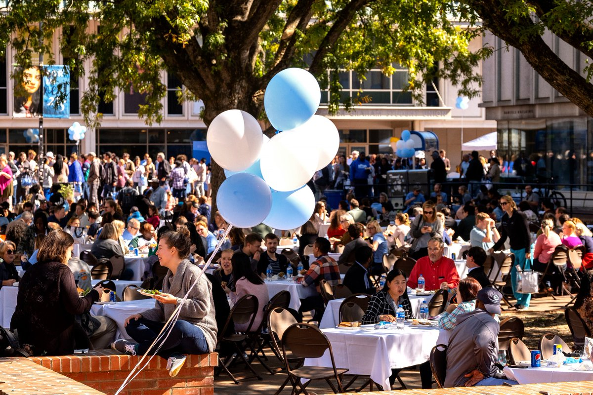 Happy Employee Appreciation Day to all our amazing and dedicated employees – @UNC is a better place because of you. TY @unc_hr & @EmployeeForum for coordinating a wonderful celebration in the Pit. #KickUpYourHeels #UNCStaff https://t.co/qsK274bfne