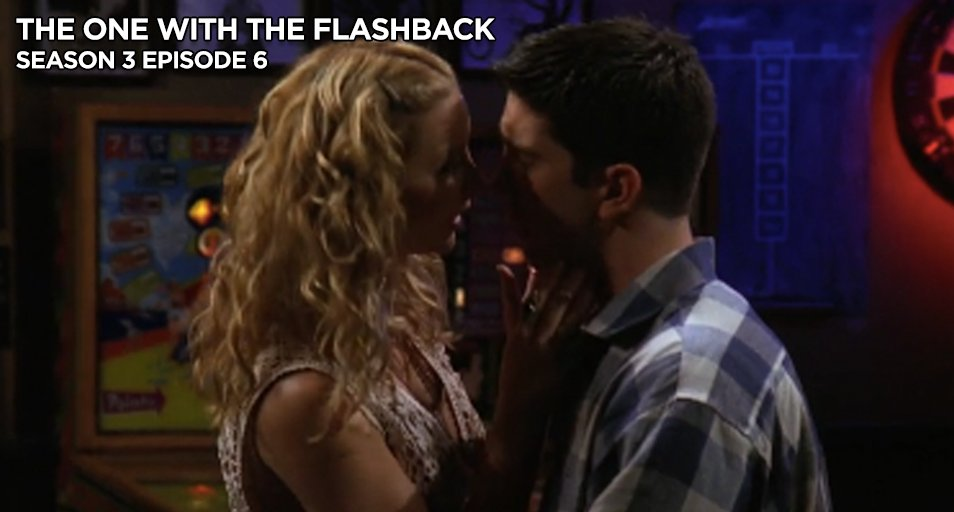 #FlashbackFriday to Ross and Phoebe's kiss.