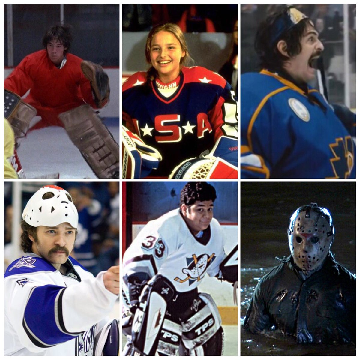Cracked Skull Hockey On Twitter Pick The Greatest Hollywood Goalie