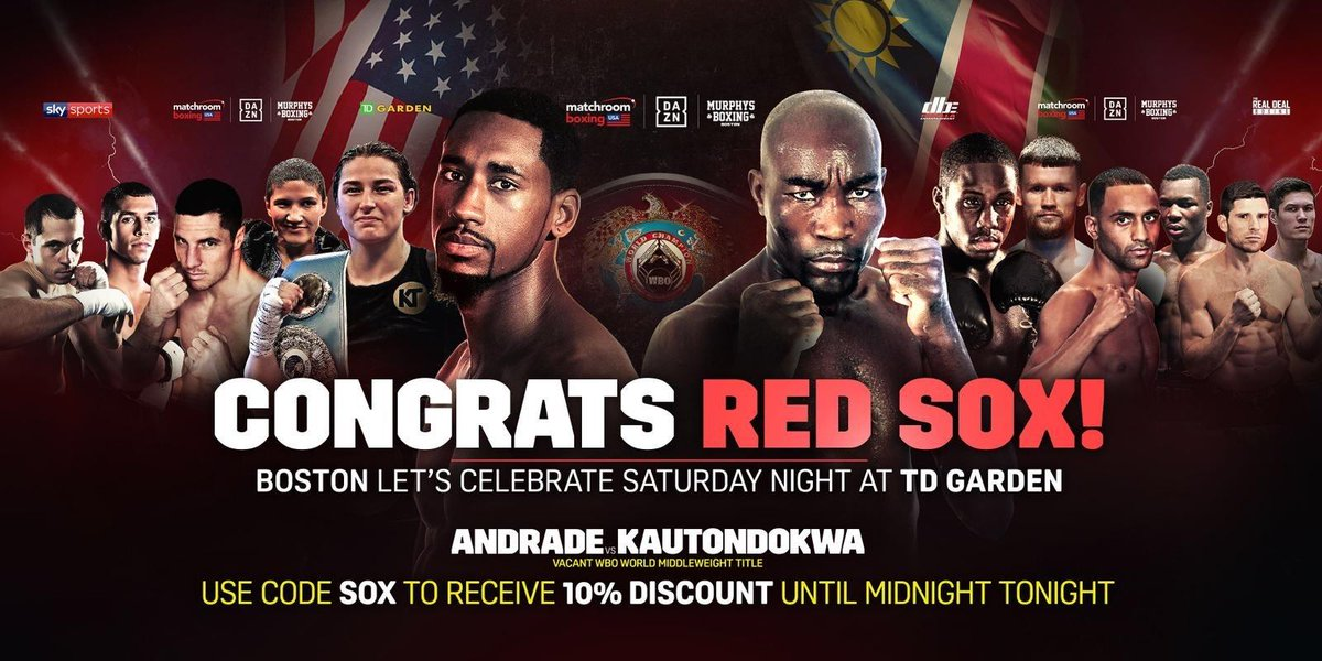 Matchroom sports twitter giveaways