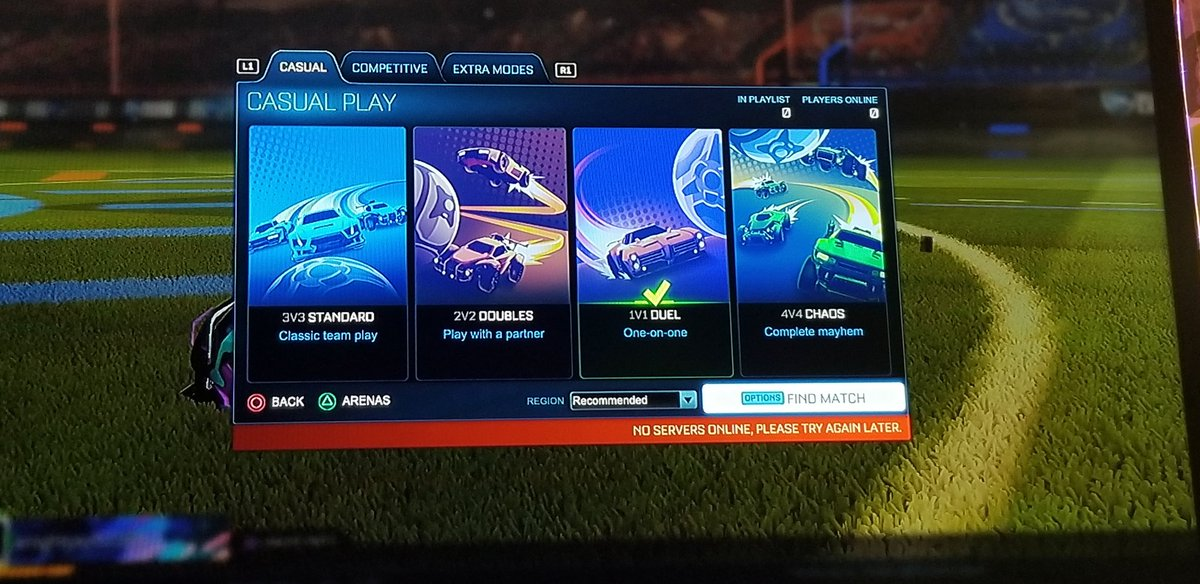 Rocket league matchmaking casual