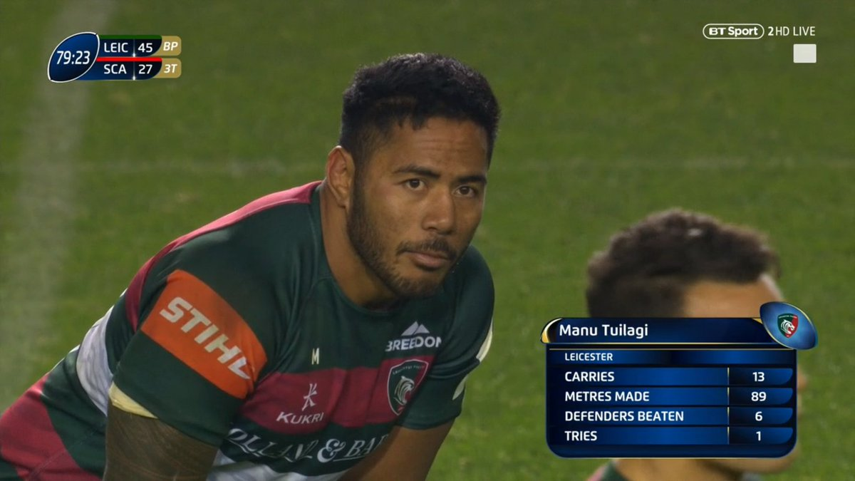 test Twitter Media - With Eddie Jones watching on from the stands 👀  Manu Tuilagi has played a blinder!  He's been voted the Heineken man of the match 👏 https://t.co/N1lqZk2Tue