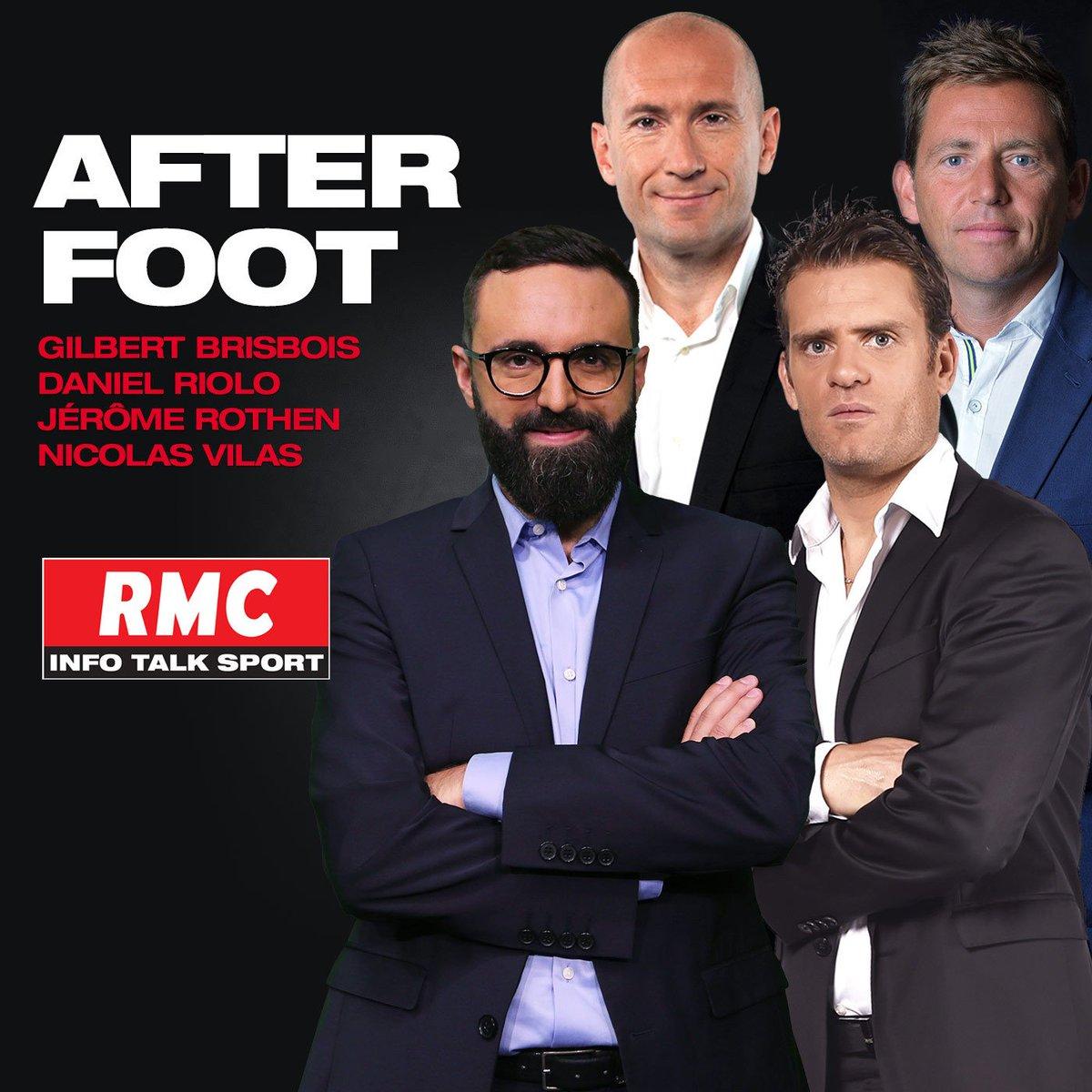 C'est parti pour l'After foot en simultané en radio sur #RMC  et en TV  sur #RMCSportNews !  https://bit.ly/2nFwxO5 #rmclive  - FestivalFocus