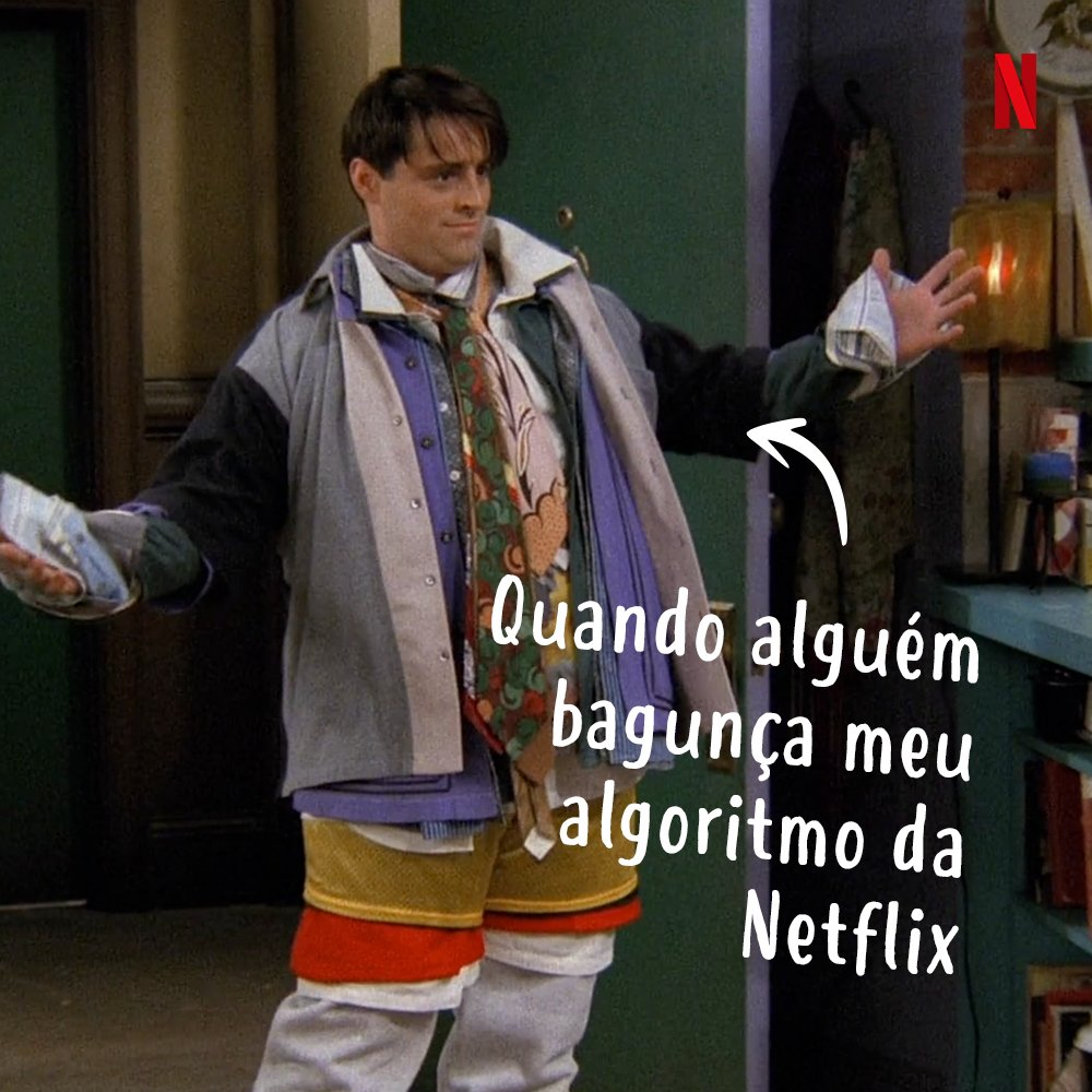 Empresto minha conta parecendo a Monica. Recebo de volta parecendo o Joey.