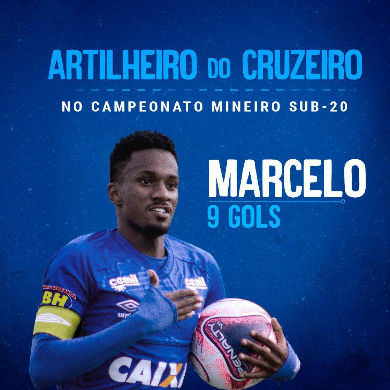 O atacante Marcelo é uma das nossas esperanças de gol na final do Mineiro. A bola rola às 10h, na Toca 1. Venha acompanhar nossos futuros craques. A entrada é franca.