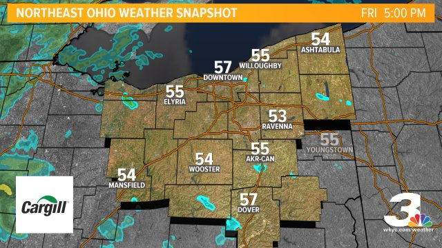 Weather Snapshot brought to you by @Cargill Deicing Technology. Find more forecast info at https://t.co/akYPvU0O5Q #3weather #ohwx