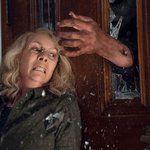 Image for the Tweet beginning: Box office: 'Halloween' carved up