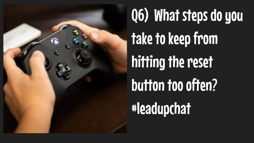 Q6: Taking back the 'control'...
