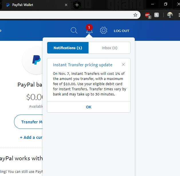 Send Money Online Paypal To Ing