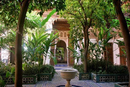 Palais et jardins de la Bahia à Marrakech. #visitmarrakech #Marrakech #Maroc #jardins #Maroc #Marrakech #travel #weekend #fun #holiday #Viajes #life #live #photos #Tourisme #hoteles  - FestivalFocus