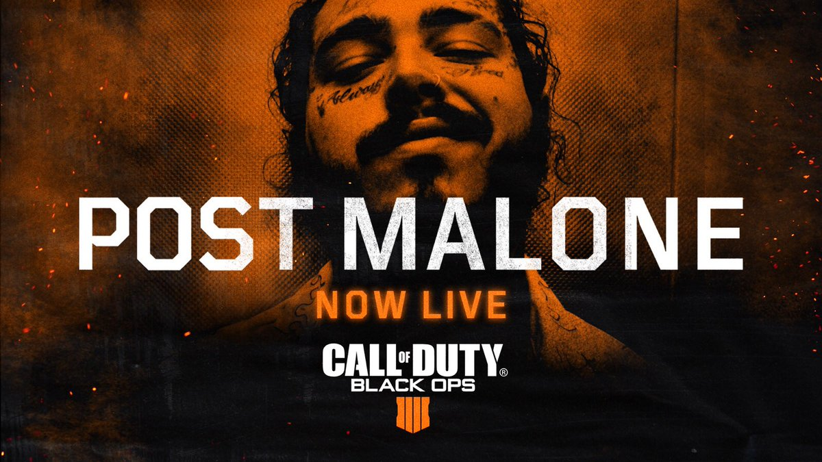 let's get some black ops! we are streaming that new @callofduty right now: twitch.tv/callofduty #ad #blackops4