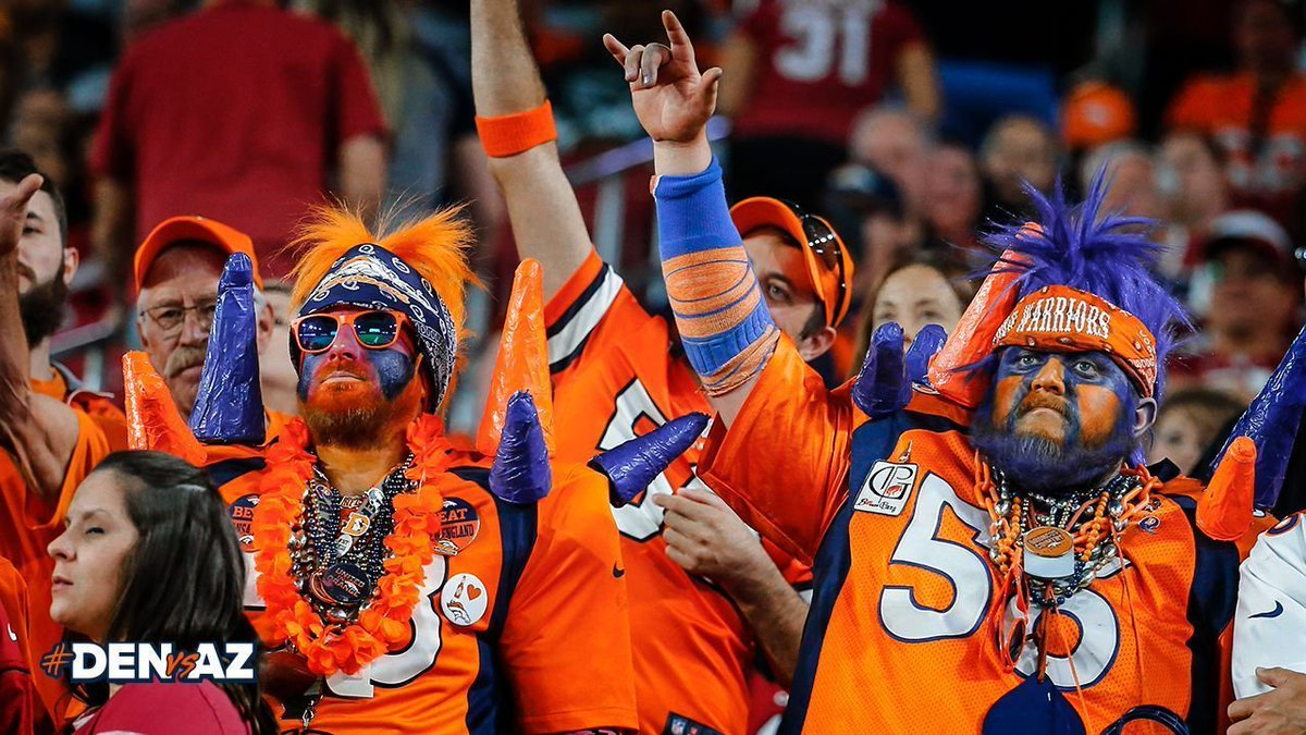 #DENvsAZ truly felt like we were at home in #BroncosCountry.   Because our fan base is the best in the 🌎.  📸's » https://t.co/Jha6c9ZUOO