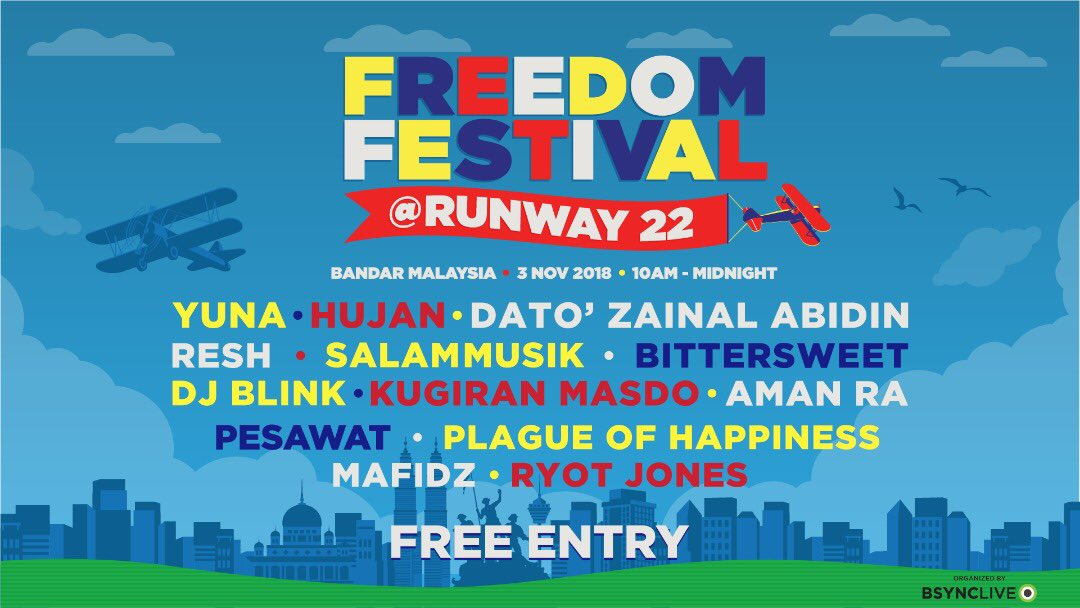 😘dear Stompers! we'll see ya in the circle pit! at Freedom Festival 🌐https://t.co/ix5YXUI36G #freedomfestMY #bandarmalaysia #runway22 #PlagueOfHappiness #skapunk https://t.co/qRMTeKl2q8