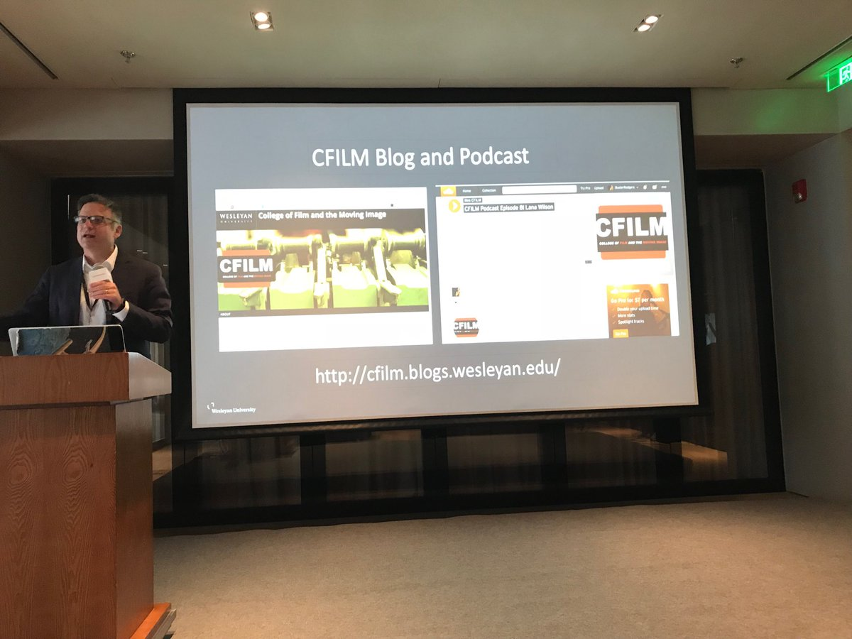 test Twitter Media - Prof. Scott Higgins ⁦@wesleyan_u⁩ talking about C-Film at a forum in Shanghai https://t.co/TqL1RSjy4s