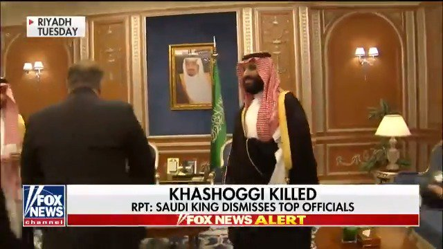 Report: 18 unnamed Saudi citizens detained in connection with Khashoggi death @foxnewsnight https://t.co/ou1qq4HKdH https://t.co/gbGzRI24VJ
