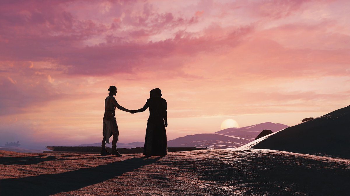 for a second I thought it was rey and luke