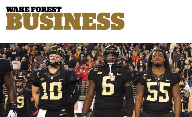 Partnering with @DemonDeacons and #ROTC programs, @WakeForestBiz is creating leaders on and off the field/court https://t.co/yzopsdJtS0