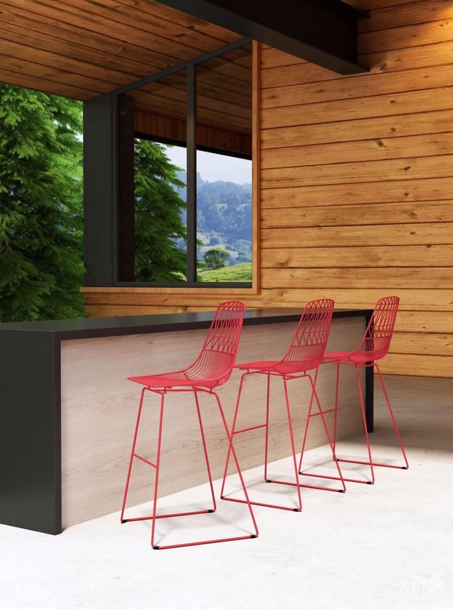Phenomenal Zuo Modern On Twitter Zuos Brodi Bar Chair Is Bold Machost Co Dining Chair Design Ideas Machostcouk