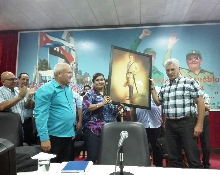 En Camagüey se trabaja por el Socialismo y su sostenibilidad, asegura Diaz-Canel (+ Audio)