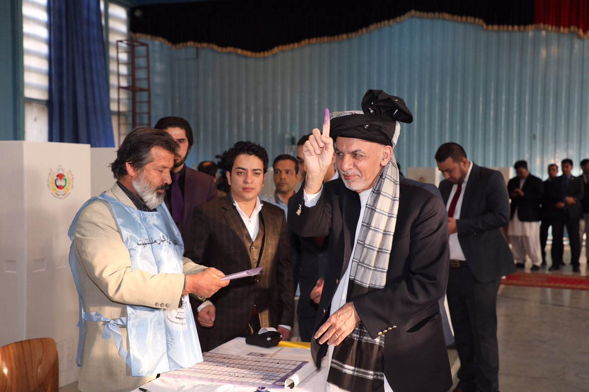 Ashraf Ghani's photo on #Afghanistan