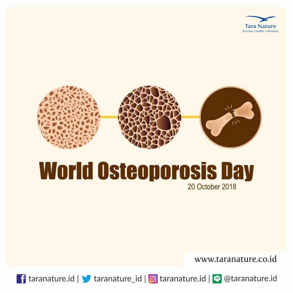 Tara Nature On Twitter Hari Ini Hari Osteoporosis Sedunia