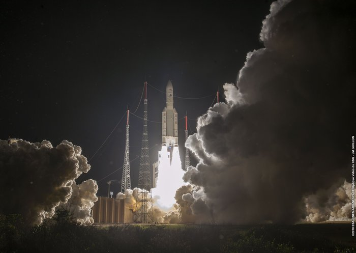 #BepiColombo blasts off to investigate #Mercury's mysteries  Read more: https://t.co/pALR2q5z2s https://t.co/u2SWyLGEBN