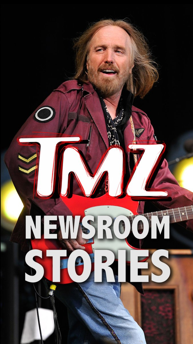 On Oct. 2, 2017, rock god Tom Petty passed away ... a day the newsroom will never forget. All-new TMZ Newsroom Stories on #IGTV https://t.co/m4fzem5LJo