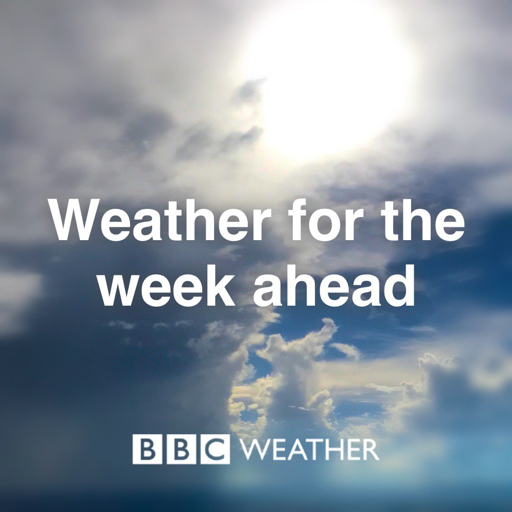 High pressure will building again for the upcoming week meaning many places will remain largely dry with sunny spells - apart from the north of Scotland which will be windy & wet at times. Cooler for all - especially towards the end of the week with N winds developing. Stav D