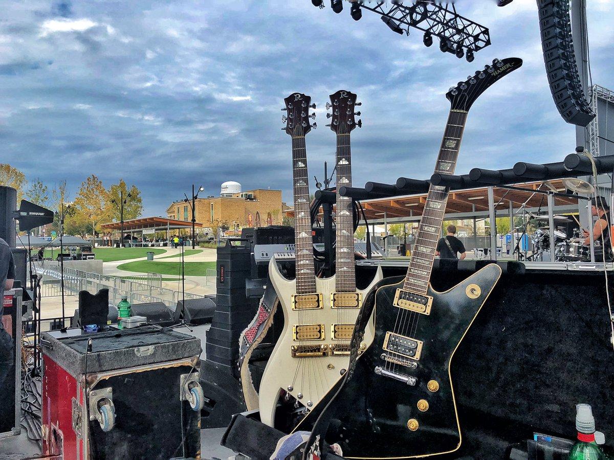 Today in Arkansas, getting ready for @MusicFestEldo.