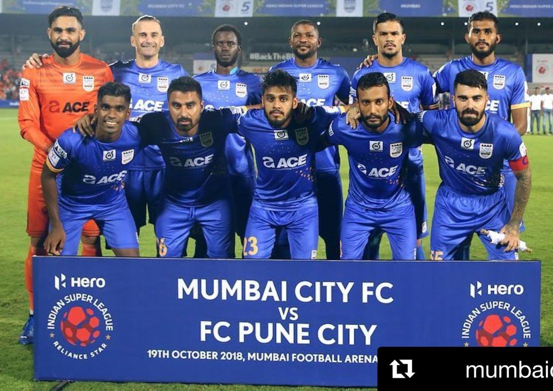 Amazing effort on the pitch and off it last night, against @FCPuneCity. Fans were brilliant. Lets keep going! #MUMPUN
