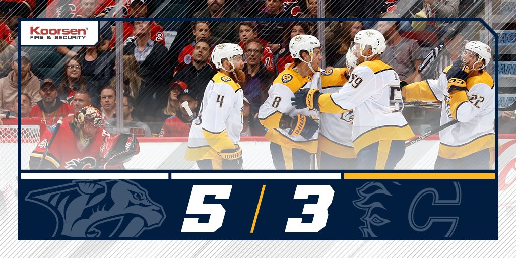 Nashville Predators's photo on #nshvscgy