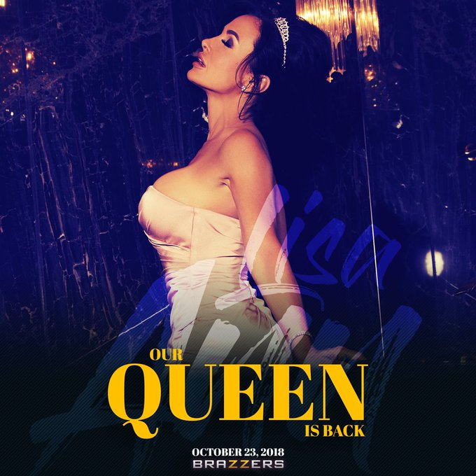 October 23rd @Brazzers  #OurQueenIsBack https://t.co/UFW4GM5l6Q