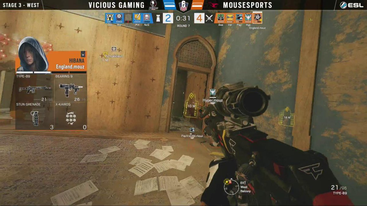 Image for the Tweet beginning: .@VertcL_'s 4k puts @mousesports on