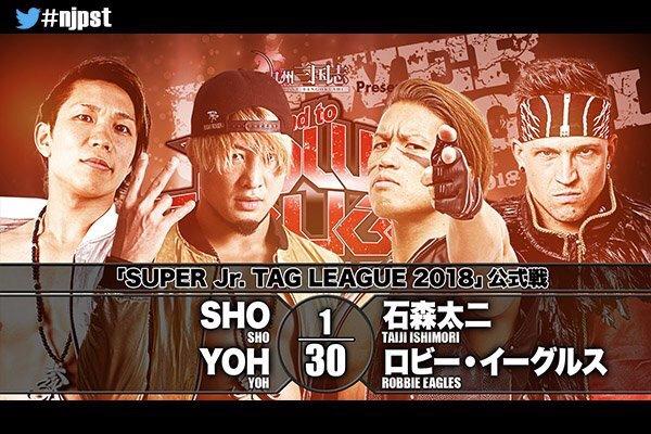 """NJPW:""""Super Jr. Tag League 2018"""" Día 4 Mexicanos vuelven a caer 5"""