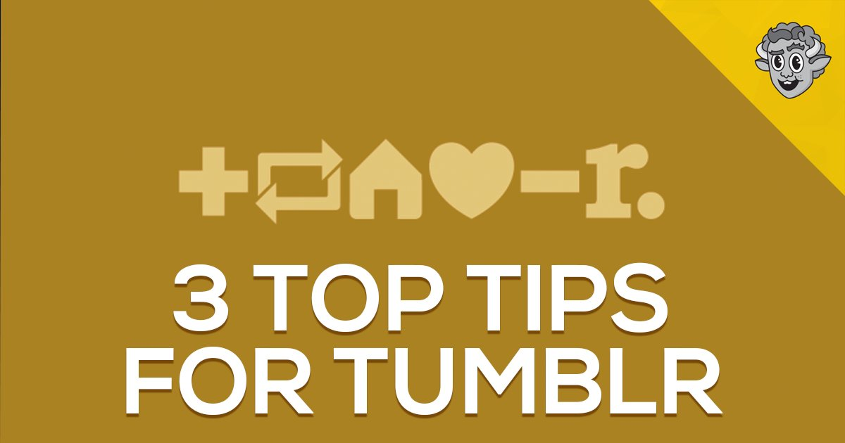 3 top tips for brands that don't understand #Tumblr >> https://t.co/qDlXCBAyWC #marketing #content https://t.co/warHPySber