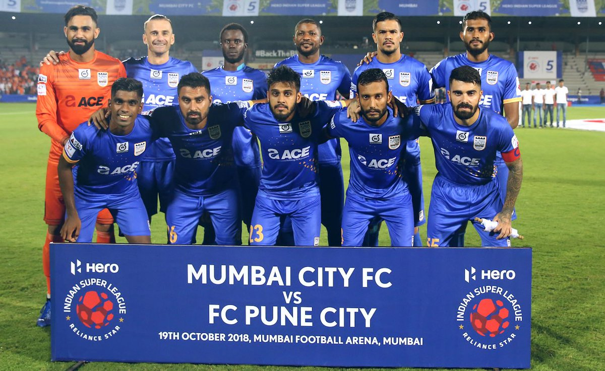 3⃣ Points in the bag on a happy night for #TheIslanders 🔵 📸s from our #MahaDerby victory over our neighbours @FCPuneCity 👏 #MUMPUN #ApunKaTeam