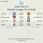 Image for the Tweet beginning: ⚽ Today's featured Premier League