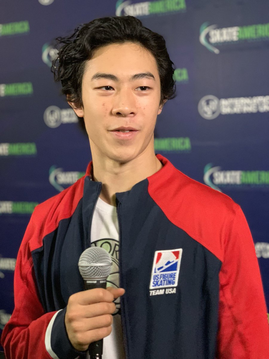 """""""I'm happy with the performance, obviously the jumps weren't exactly up to what I want them to be but it is still early in the season and still a lot of time for growth.""""  @nathanwchen- ."""