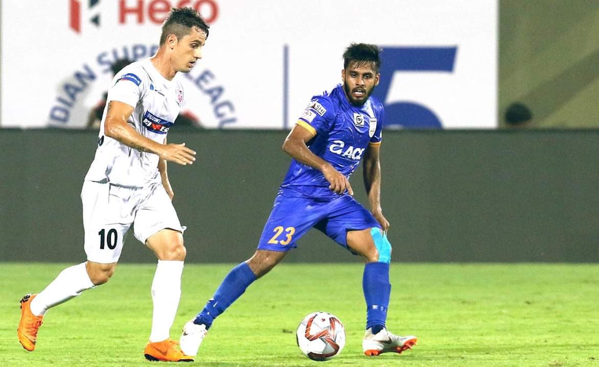 Incredibly happy to have got our first win of the season! Time to build on from here. 🔵 @mumbaicityfc #ApunKaTeam