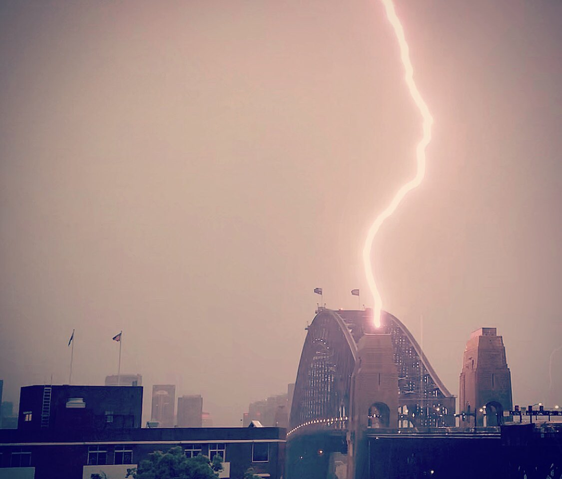 Mick Garnett's photo on #sydneystorm