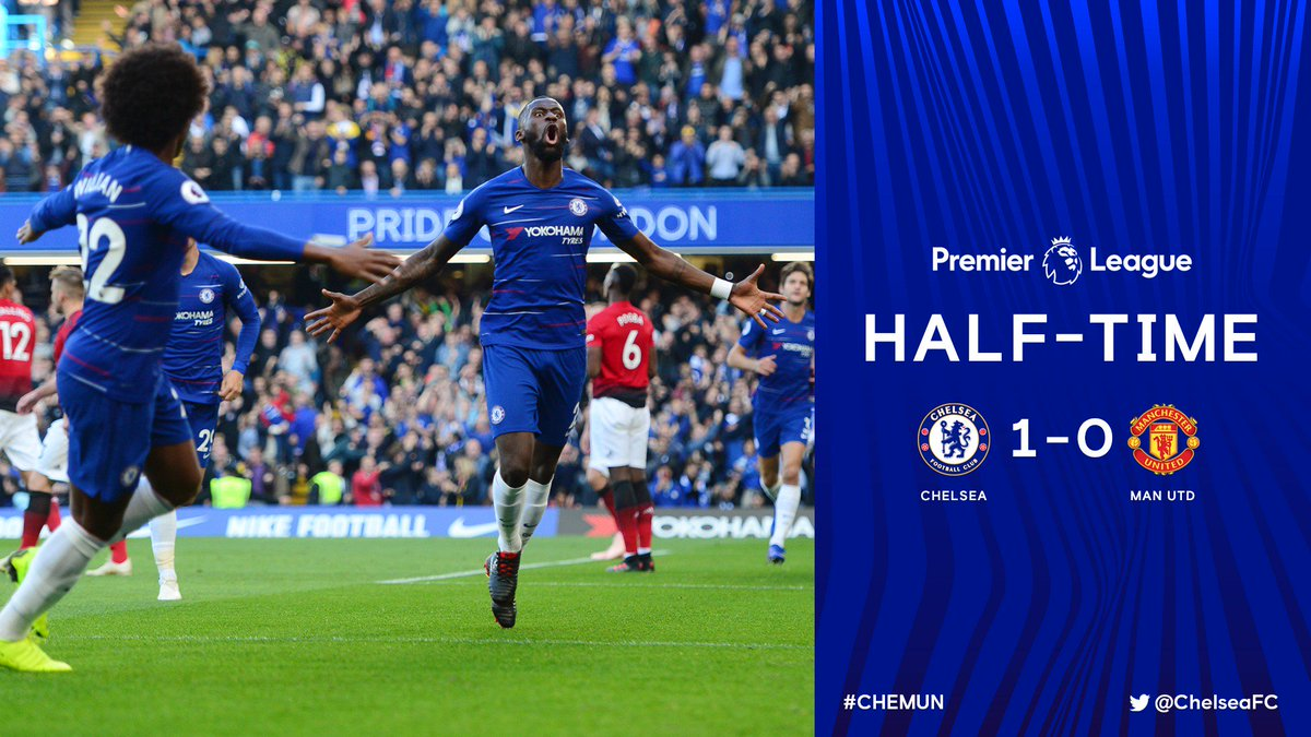 Chelsea FC's photo on HALF TIME