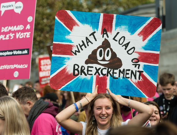 People's Vote march against Brexit sees thousands bring streets to standstill https://t.co/ODL2bunq81