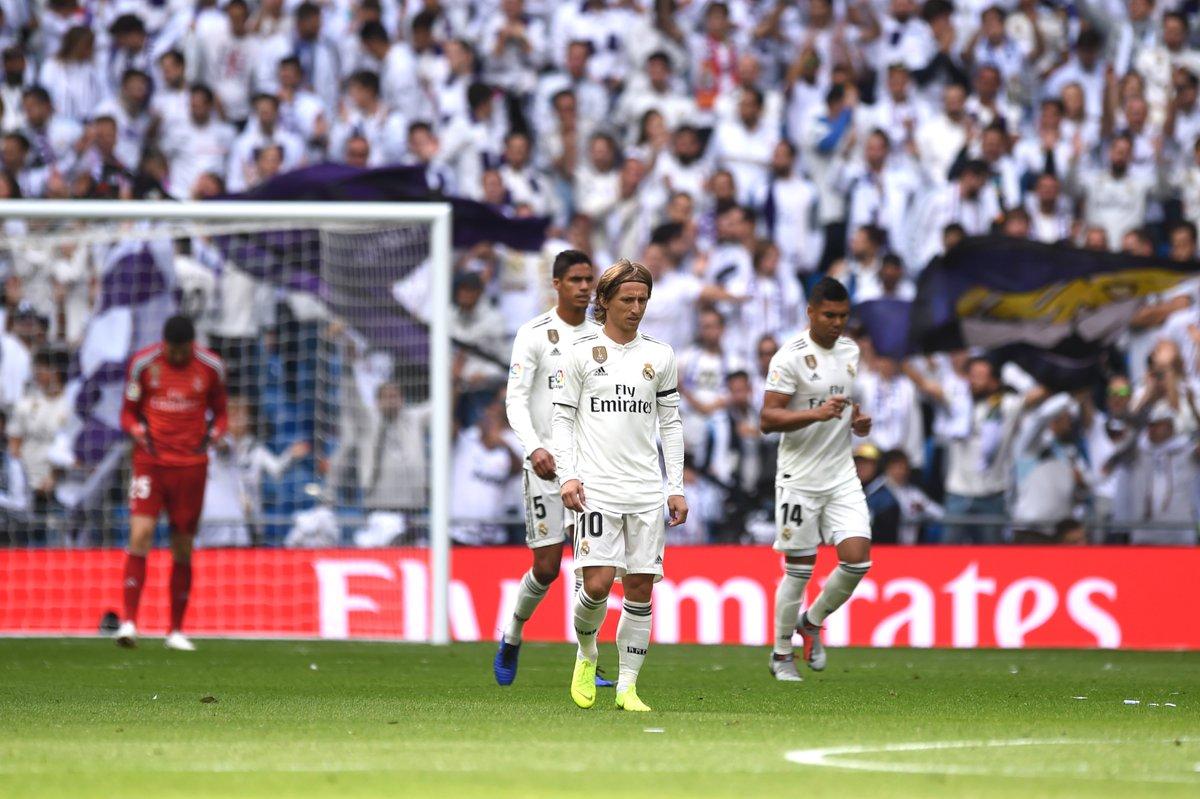 📌 Marcelo acaba com o jejum de gols do Real Madrid! Foram pouco mais de OITO HORAS sem balançar as redes adversárias, algo nunca antes visto na história do clube.