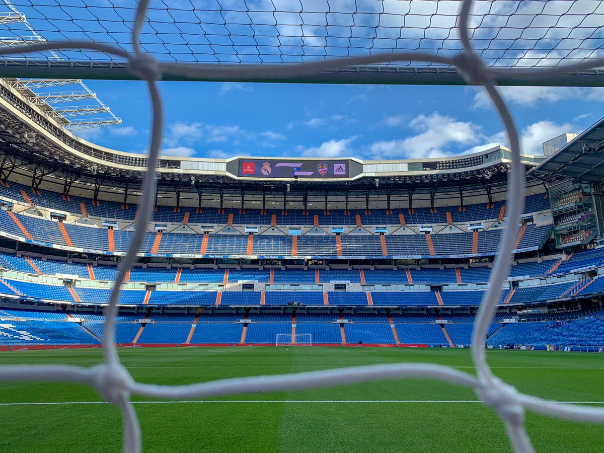 🏟👌 It's good to be home. #RMLiga
