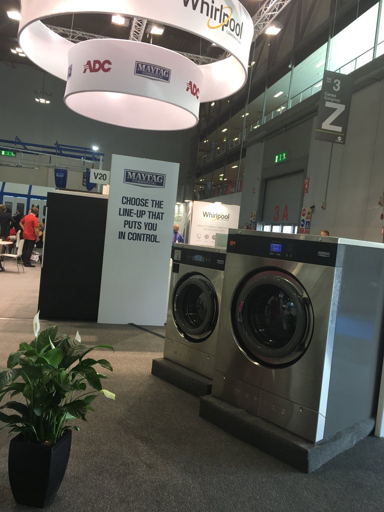 Really interesting trip to Milan. Very impressed by @AmminiDetergo and great to spend time with our new business partners @MaytagCommLndry #arrivederci #milano #fieramilano #commerciallaundry