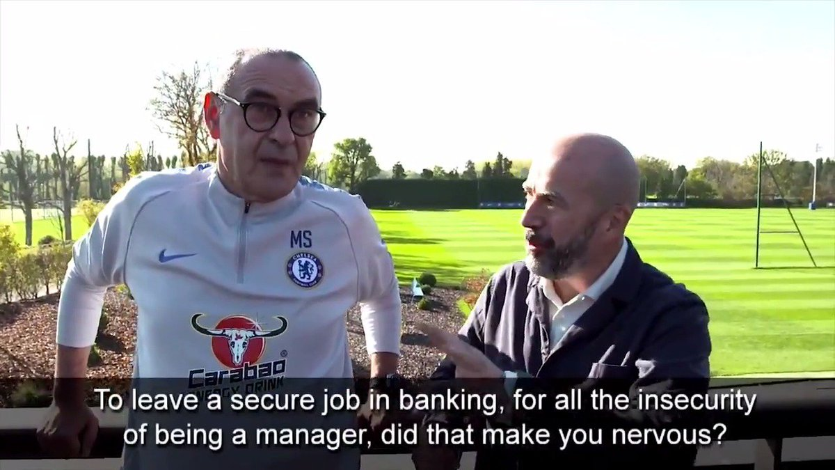 Chelsea FC's photo on Sarri