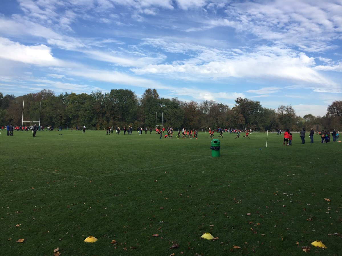 200 boys representing their houses at Year 7 Interform. #WBGSRUGBY