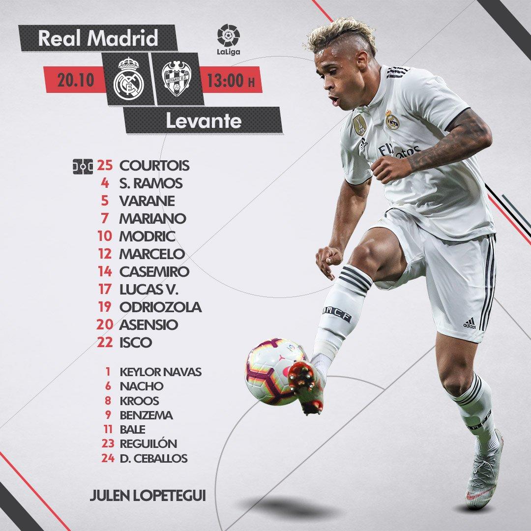 Real Madrid vs Levante Dp8UZ78X0AIOTO7